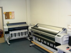 Media Services\' large format printers